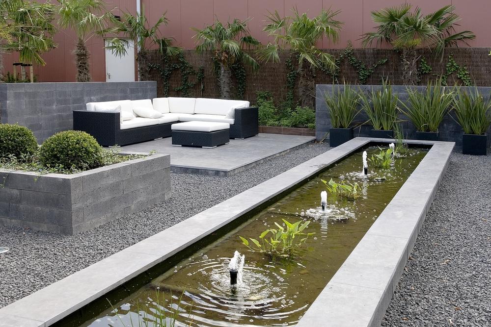 Een strakke tuin in dodewaard hoveniersbedrijf van dijk