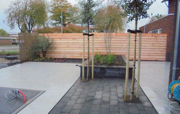 Aanleg tuin in Kesteren