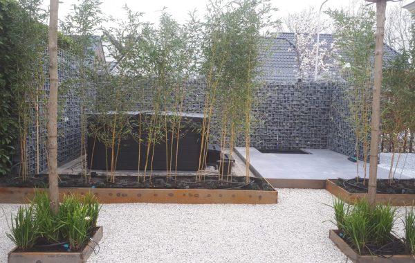Aanleg tuin in Ingen