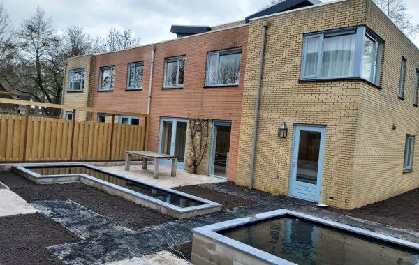 Aanleg voor- en achtertuin in Wageningen