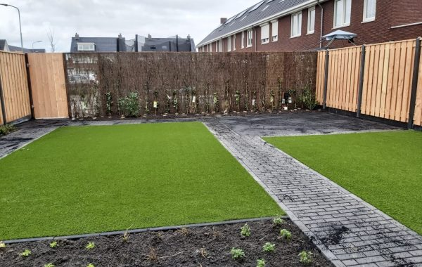 Aanleg tuin in Tiel