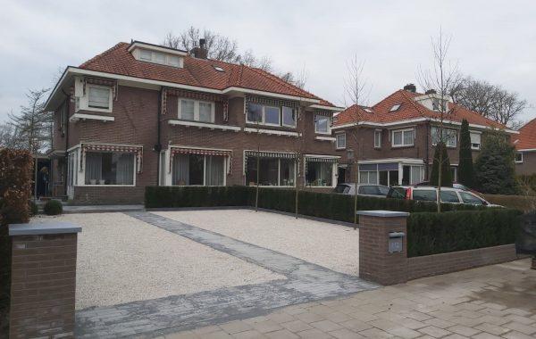 Aanleg voortuin in Veenendaal
