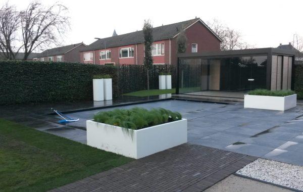 Aanleg exclusieve achtertuin in Lienden