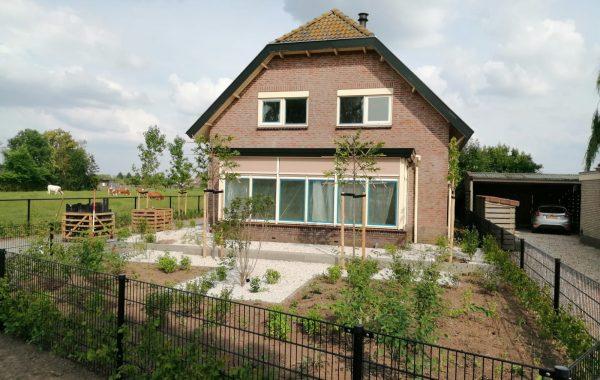 Aanleg tuin in Lienden