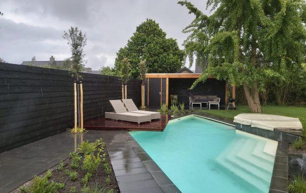 Renovatie achtertuin in Lienden