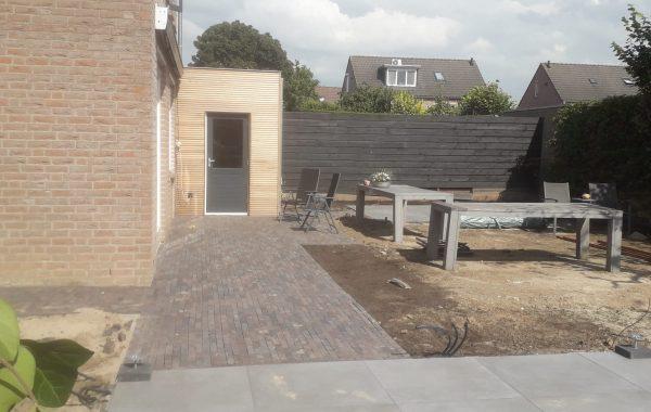Aanleg complete tuin in Lienden
