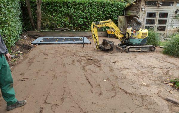 Renovatie tuin in Oss