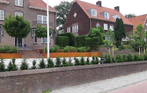 Renovatie van een voortuin in Rhenen